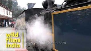 Coonoor India  city images : Steam locomotive engine, Coonoor, India