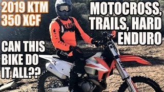 1. 2019 KTM 350 xcf review - can this dirt bike do it all?