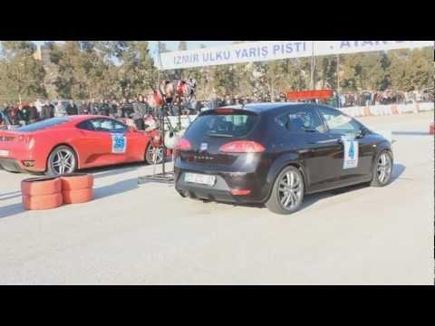 ferrari f430 vs seat leon cupra