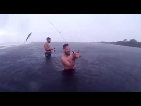 Pescaria em Barra do Una