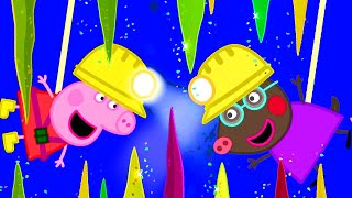 Video Peppa Pig Official Channel | Visiting the Caves with Molly Mole and Peppa Pig! MP3, 3GP, MP4, WEBM, AVI, FLV Juli 2019
