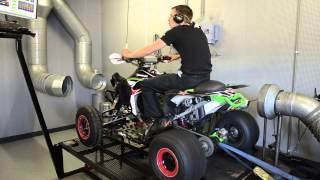 8. Dynojet testrun Kawasaki KFX 450 Bigbore 490, Klijnstra Motoren