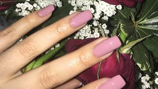 DIY Acrylic Nails Hack! Easy At Home Tutorial! by Alexandras Girly Talk