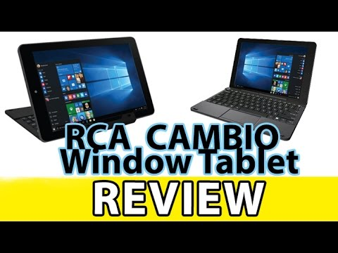 RCA Cambio Tablet Review!