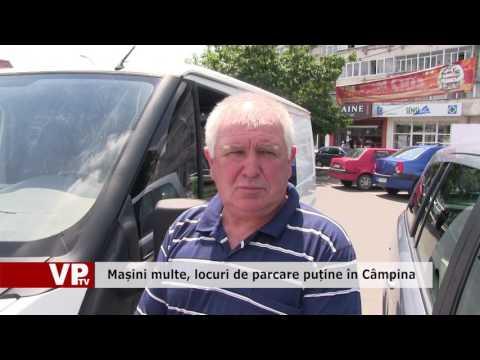 Mașini multe, locuri de parcare puține în Câmpina