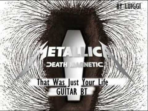 Metallica - That Was Just Your Life  (Guitar Backing Track)