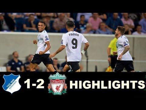 UCL Hoffenheim vs Liverpool  Full Match Goals & Highlights - Champions League 15/08/2017