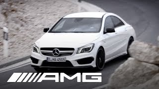 Mercedes-Benz CLA 45 AMG Trailer