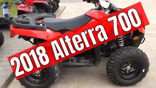 9. 2018 Textron Alterra 700 in 4k