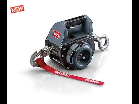 WARN Drill Winch: Drill-Powered Portable Winch