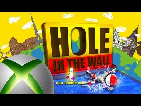 hole in the wall xbox 360 kinect