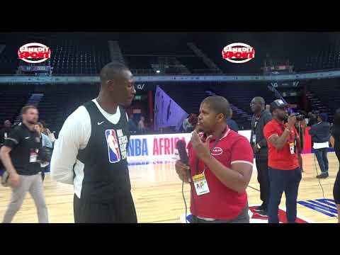 Bismack BIYOMBO au NBA Africa Games
