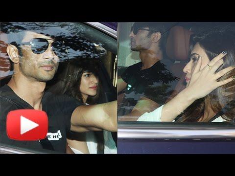 Sushant Singh Rajput Takes Girlfriend Kriti Sanon