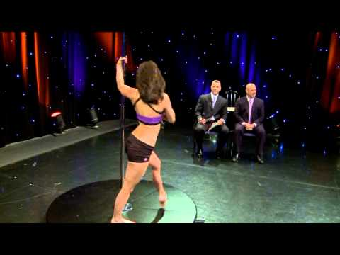 Pole Dancer Demonstrates Her Craft on WGN Morning News Video
