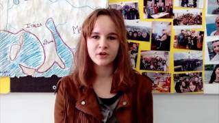 Young innovators in Action Project: Katerina Dimitrovska - Artist