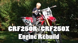 10. CRF250R Engine Rebuild - Bottom End - Part 1 of 4