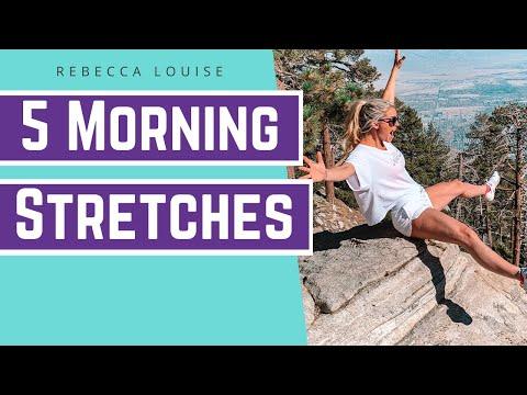 레베카 언니와 아침 스트레칭 5가지 운동