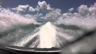 3. Peel Island to Cleveland, Kawasaki STX12-F rear mount GoPro