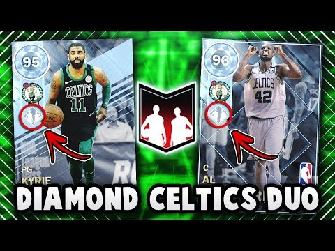 NBA 2K18 INSANE CELTICS DYNAMIC DUO GAMEPLAY!! *DIAMOND KYRIE IRVING* | NBA 2K18 MyTEAM GAMEPLAY