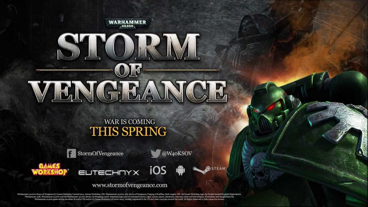 'Warhammer 40K Storm of Vengeance' Arriving March 27th