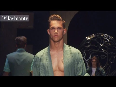 Versace Men Spring/Summer 2013 FULL SHOW | Milan Men's Fashion Week | FashionTV FM… видео