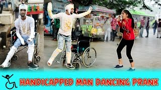 Video Handicapped Person Dancing Prank | Pranks In India | Aawara Boys MP3, 3GP, MP4, WEBM, AVI, FLV Januari 2019
