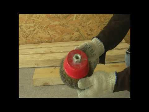 Приспособление для браширования древесины своими руками