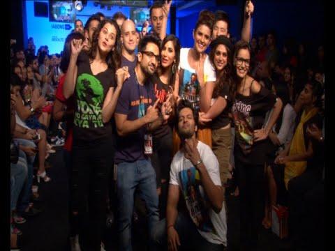 Aditi Rao Hydari, Shazahn Padamsee, VirDas & Others On Ramp AT Lakme Fashion Week 2015