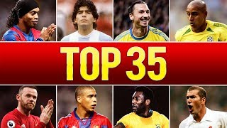 Video Top 35 Legendary Goals In Football History MP3, 3GP, MP4, WEBM, AVI, FLV April 2019