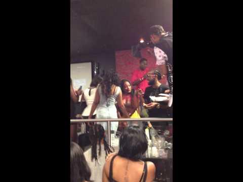 ass night club shaking dancing - LHHATL Erica Dixon shaking her ass in VA Beach Club Element.