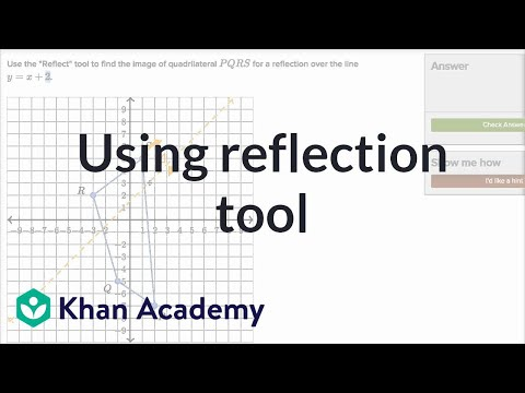 Performing Reflections Video Khan Academy