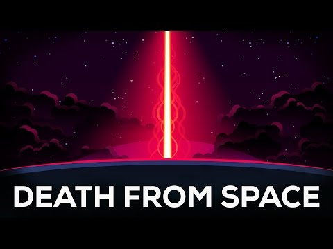 Death From Space GammaRay Bursts Explained