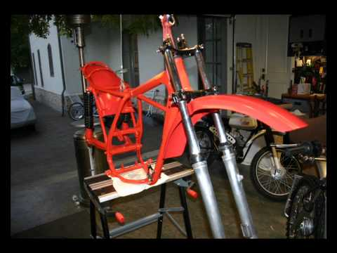 1976 Honda CR 250 Elsinore Restoration