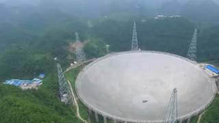 Qiannan China  City new picture : China takes hunt for alien life to new levels with world's largest radio telescope