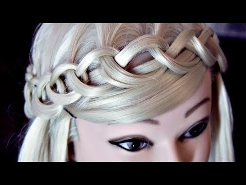 Braid hairstyles - Crown Braid  Hairstyles by REM   Lena Rogovaya
