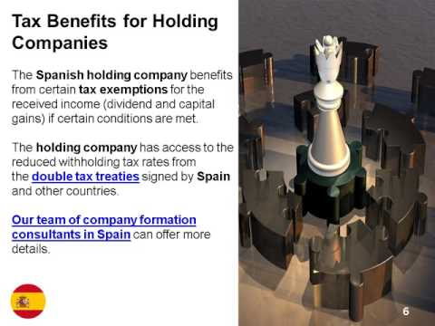 Holding Company in Spain