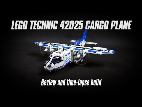 "Songs in ""Lego Technic 42025 Cargo Plane Build & Review"" Youtube ..."