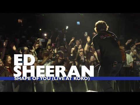 Ed Sheeran - 'Shape Of You' (Live At Capital Up Close)