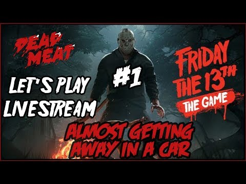 Friday the 13th VIDEO GAME Let's Play LIVESTREAM!