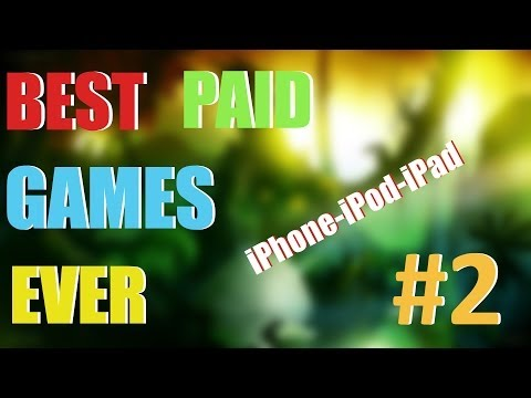 Best Paid Games Ever for iOS – PART 2 (iPhone, iPod, iPad)