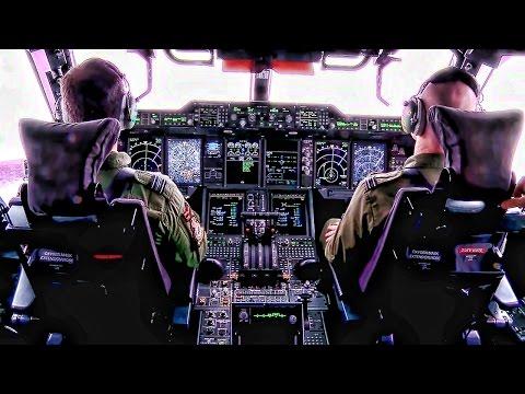 A Royal Air Force (RAF) A400 Atlas...