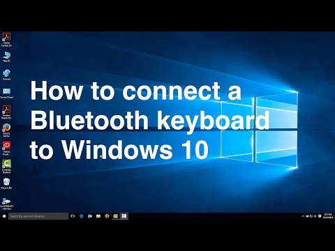 How to connect a Bluetooth keyboard to Windows 10