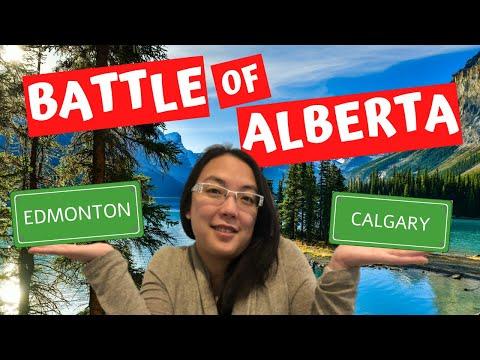 Edmonton vs Calgary - Which Alberta City is Best?!