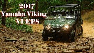 10. 2017 Yamaha Viking VI EPS : Torquey 700-Class Engine with Powerful Controllable Brakes