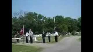 Aberdeen (MS) United States  city pictures gallery : Memorial Day Aberdeen MS 21 Gun Salute