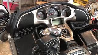 5. Honda Gold wing audio upgrade