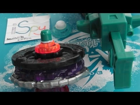 Beyblade x B-Daman Modification! The HSF 'High Semi Flat' from Break Ogre - BEY-MINIGAME #2