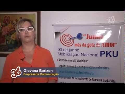 CHAMADA 36 - MOBILIZAÇÃO NACIONAL PKU EM VOLTA REDONDA