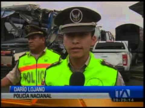 Un muerto dejó accidente de tránsito entre buses interprovinciales