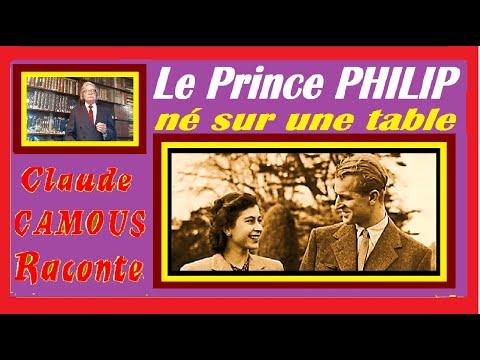 Le Prince PHILIP né sur une table … « Claude Camous Raconte » et transporté dans un panier d'oranges…